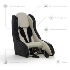 Foto 2 de 5 de la galería volvo-asiento-infantil-hinchable en Motorpasión
