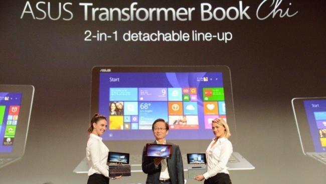 Asus lanza los Transformer Chi, su línea de convertibles ultra-delgados con Windows 8.1