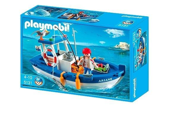 Set Playmobil pesca