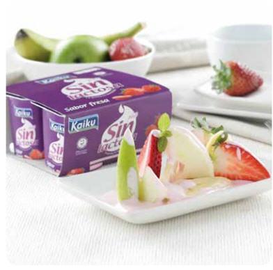 Yogur de fresa Kaiku