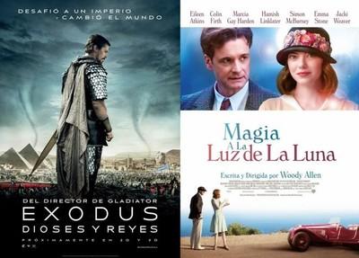 Estrenos de cine | 5 de diciembre | Ridley Scott y Woody Allen vuelven a la cartelera