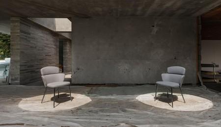 KIN: la colección de asientos diseñados por Radice Orlandini de Design Studio bajo la técnica japonesa Kintsugi