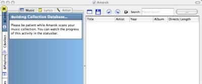 Amarok para Mac OS X en breve