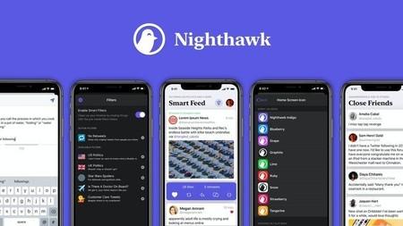 Nighthawk, el nuevo cliente de Twitter para iPhone y iPad con filtros inteligentes