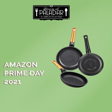 El juego de sartenes BRA Efficient Orange a precio mínimo en el Prime Day de Amazon: por 46,99 euros (en lugar de 111 euros)