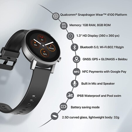Mobvoi Ticwatch E3 03