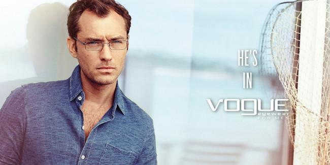 Jude Law Vogue Eyewear