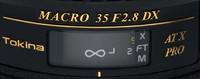 Tokina retrasa su 35mm macro para Canon