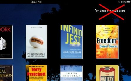 Apple obliga a las aplicaciones de eBooks a eliminar enlaces a tiendas web