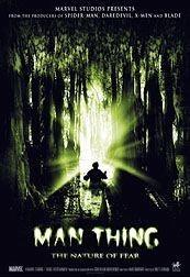 'Man-Thing', más horripilante que el propio monstruo