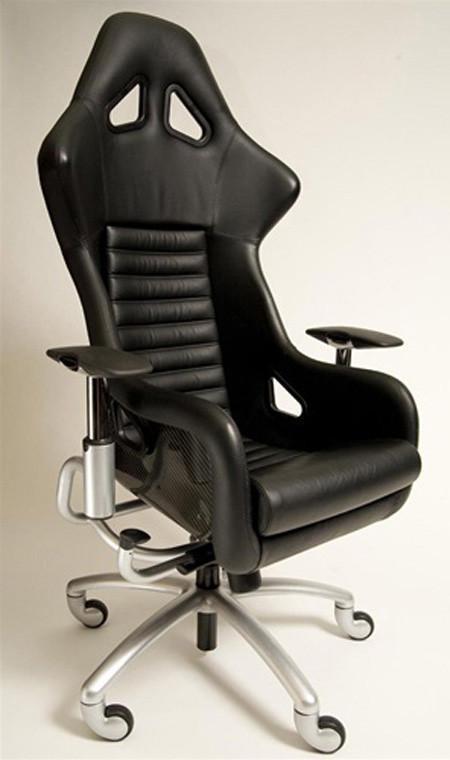 Las sillas de oficina que todo aficionado al motor querr a for Asientos de oficina