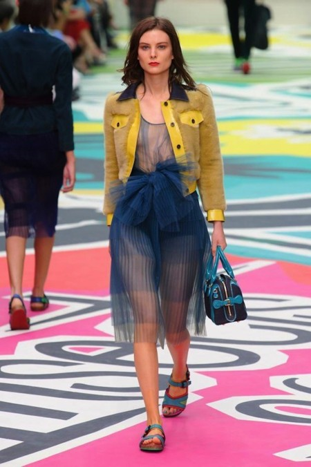Burberry Tendencia Transparencias