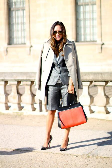 Street Style Semana de la Moda de París: las Olsen, muy bien recibidas