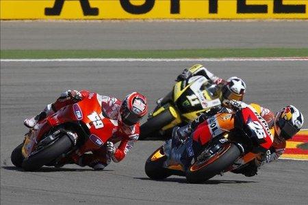 MotoGP Japón 2010: Esto es cosa de tres