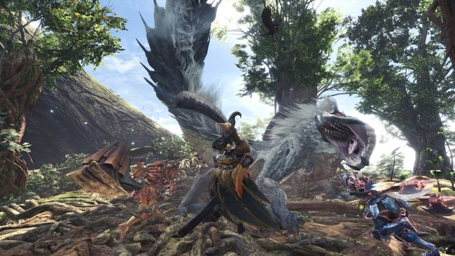 Monster Hunter World Actualizacion 01
