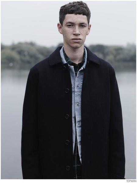 Topman Coat Fall 2014 Campaign 008