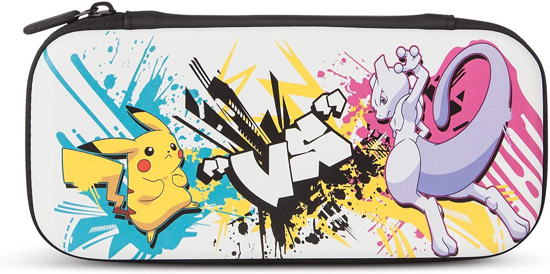 Kit con Funda PowerA para Nintendo Switch Lite – Batalla de Pokémon - Standard Edition