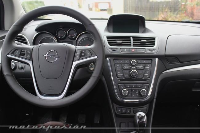 Opel Mokka, vista interior