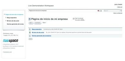 Nuospace, espacio web para las empresas