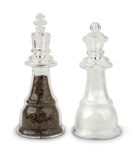 salero y pimentero ajedrez