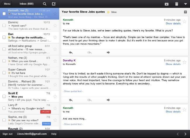 gmail google aplicación nativa correo ios app store