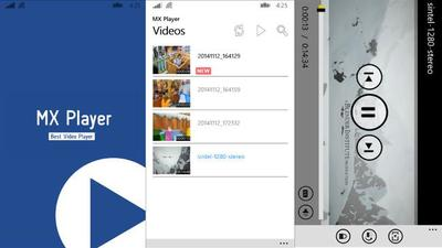 El reproductor de vídeo MX Player aparece en Windows y Windows Phone con una versión aún en pruebas