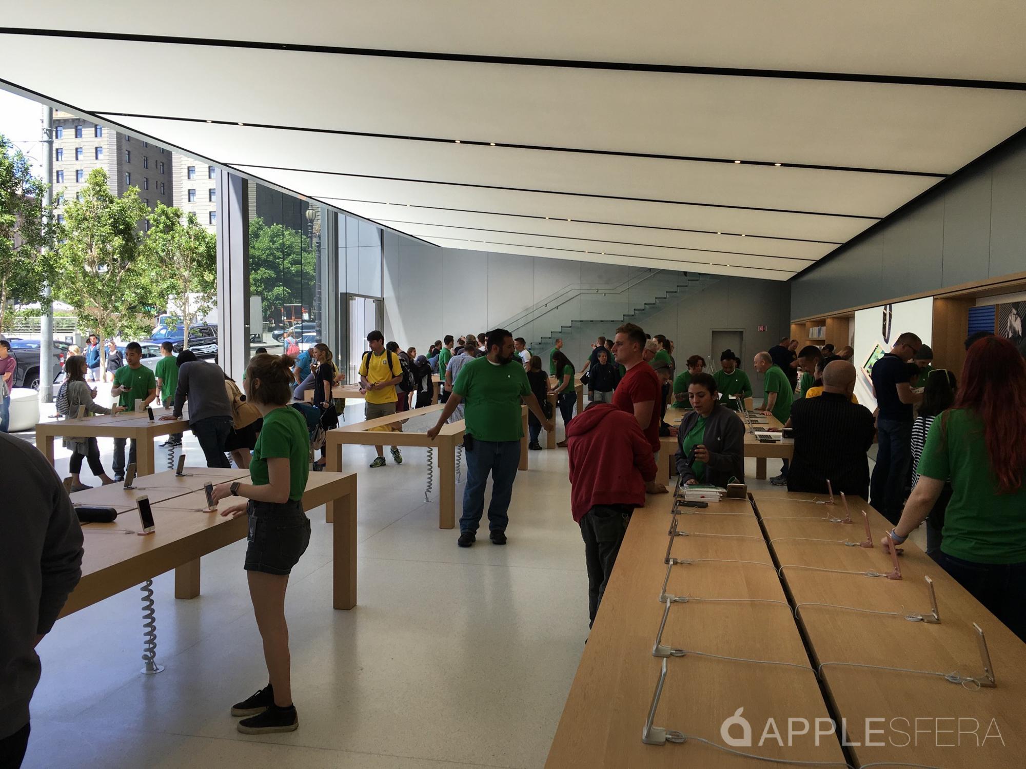 Foto de Apple Store Union Square & WWDC16 Moscone Center (10/16)