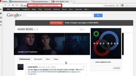 Google + ya admite las Vanity URL, direcciones personalizadas para tu página de empresa