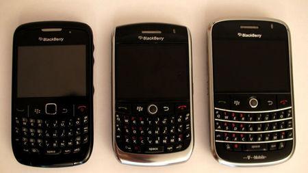 Modelos de BlackBerry