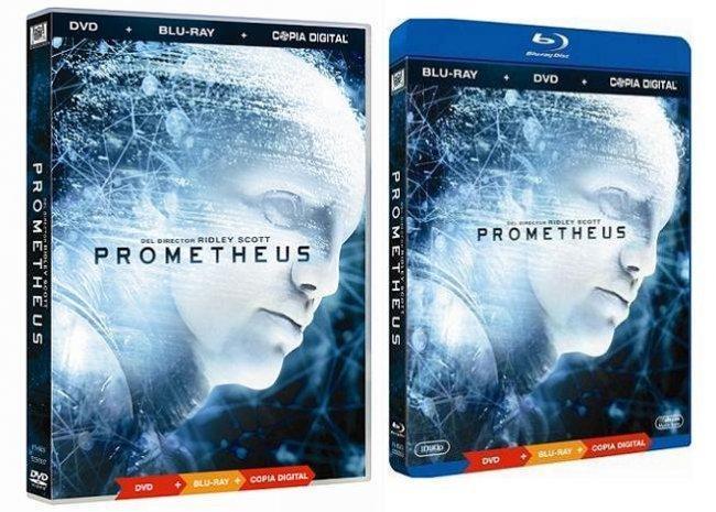 La edición sencilla de 'Prometheus'