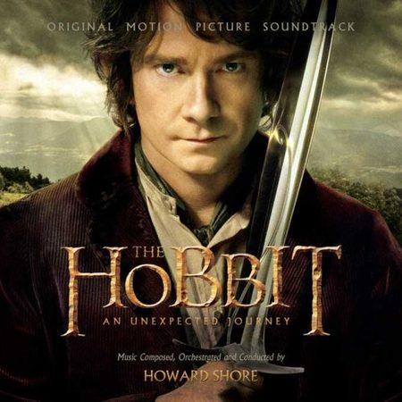 Carátula de la banda sonora de El Hobbit