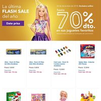 Toys 'r us nos ofrece descuentos de hasta el 70% en la última flash sale del año