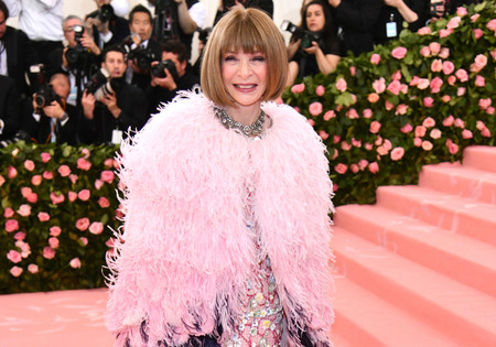 Gala MET 2019: Anna Wintour luce un lookazo rosa de Chanel a juego con la alfombra