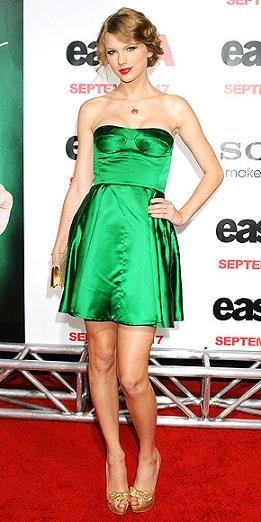 taylor swift miu miu verde