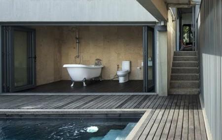 Para los más atrevidos el cuarto de baño al aire libre