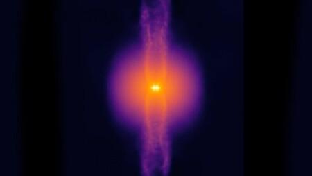 Ya podéis contemplar la simulación 3D de formación estelar más realista y de mayor resolución hasta la fecha