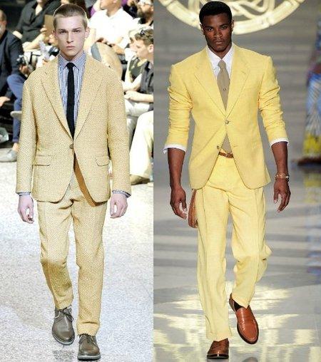 trajes primavera verano 2012