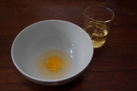 Huevo y aceite