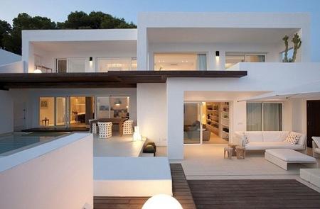 Puertas abiertas: sensacional casa de veraneo en Ibiza