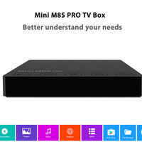 TV Box Android 6.0 Mini M8S Pro, con 3GB de RAM y 32GB de capacidad, por 62,29 euros