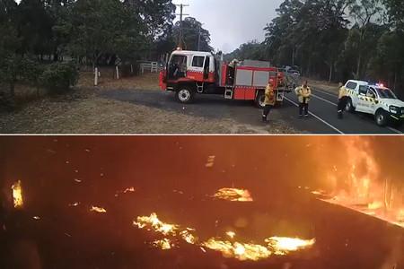 De la calma al infierno en tres minutos: la virulencia de los incendios de Australia, en un vídeo
