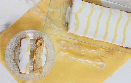 Tarta Bakewell de lemon curd, receta tradicional británica para acompañar la sobremesa