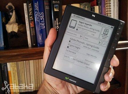 Movistar eBook BQ. Análisis