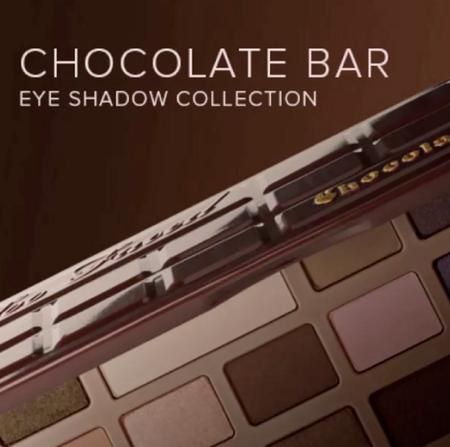 Chocolate Bar, la nueva paleta de sombras de Too Faced... ¡con cacao en polvo!