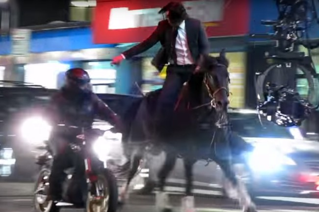 Keanu Reeves cambiará las motos por un caballo en 'John Wick: Parabellum', y seguirá siendo letal