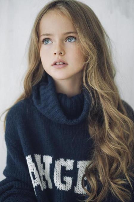 La niña más guapa del mundo tiene nueve años, es modelo y se llama Kristina Pimenova