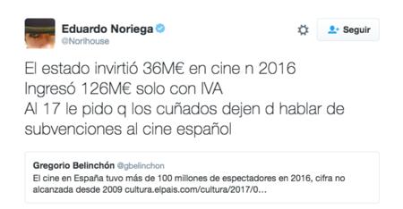 Tweet Eduardo Noriega