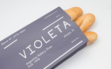 Más que adorable en packaging de Violeta Bakery Shop en Buenos Aires