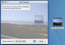 WiiTransfer, películas de tu Mac a tu Wii