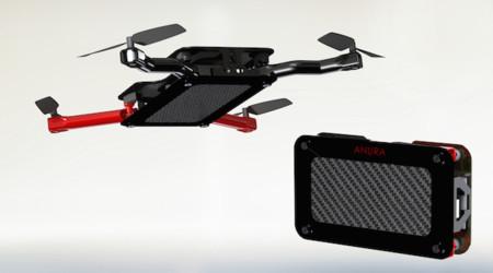 Anura, así es el drone de bolsillo que busca financiación